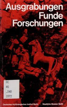 Cover of: Ausgrabungen, Funde, Forschungen | Deutsches Archäologisches Institut