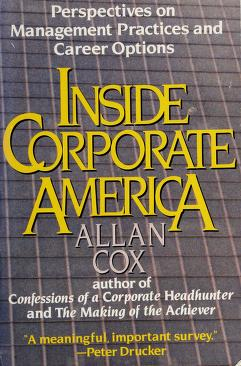 Cover of: Inside corporate America | Allan J. Cox