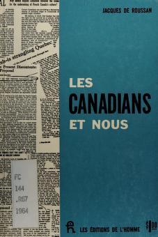 Cover of: Les Canadians et nous | Jacques de Roussan