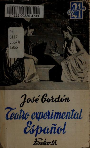 Teatro experimental español by