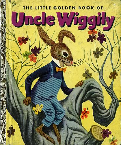 The Little Golden Book of Uncle Wiggily by Howard Roger Garis